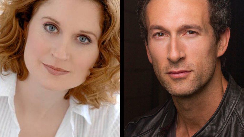PRESS _ Christiane Noll and Aaron Lazar