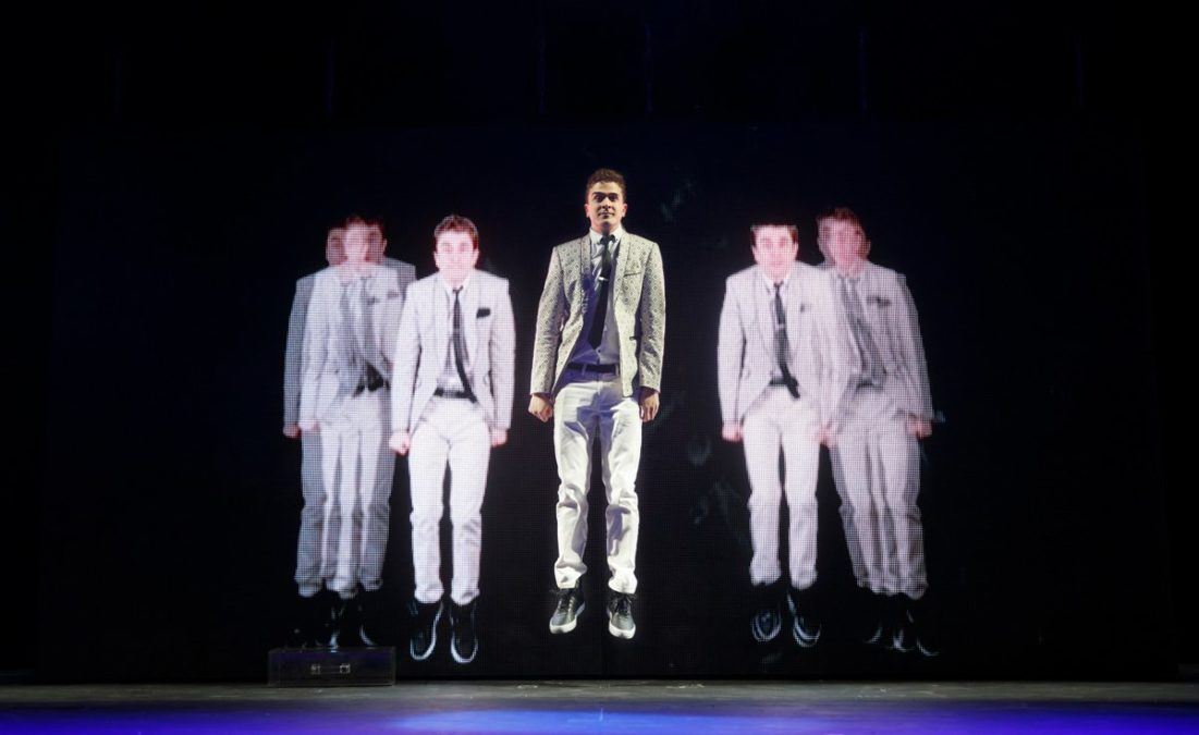 PS - The Illusionists - Adam Trent (The Futurist) - 12/2014 - Joan Marcus