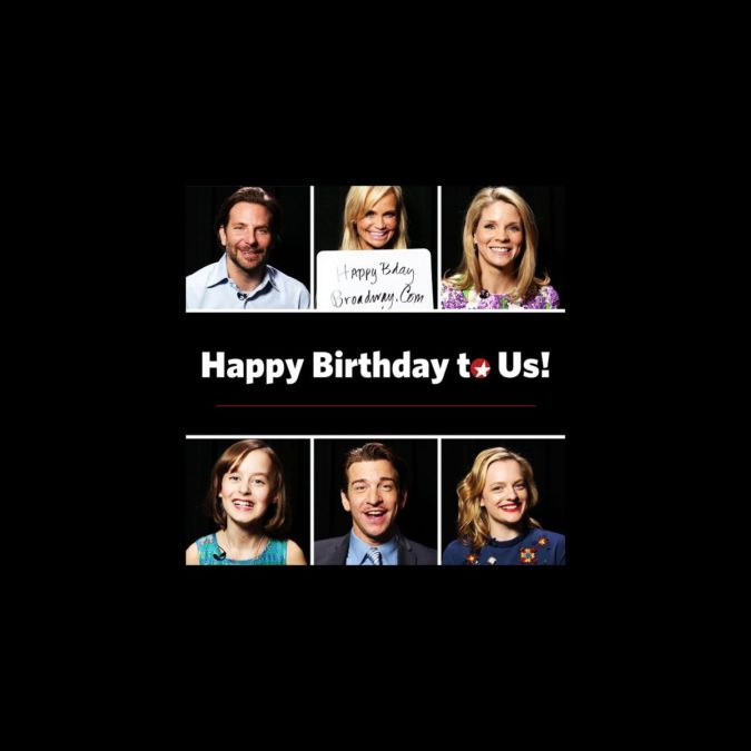 Happy Birthday Broadway.com