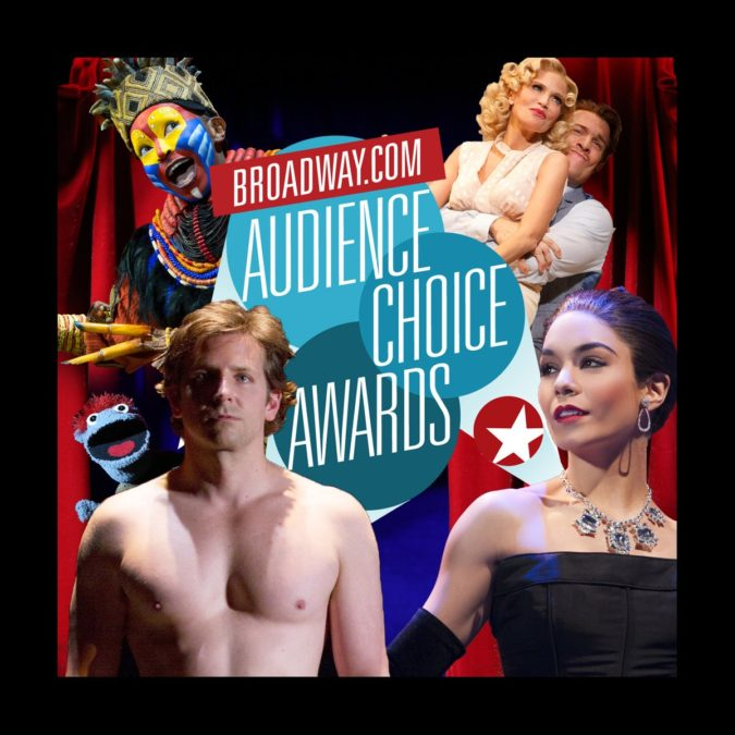 Broadway.com - Audience Choice Awards - Nteliseng Nkhela - Kristin Chenoweth - Andy Karl - Vanessa Hudgens - Bradley Copper - Tyrone - Hand to God