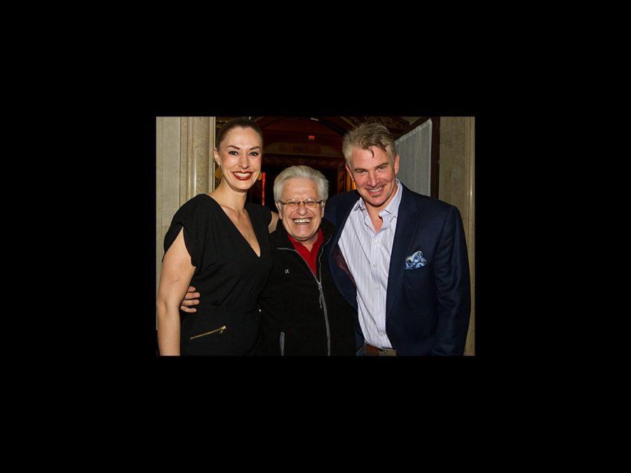 Hot Shot - Addams Family tour Boston opening night - Sara Gettlelfinger - Jerry Zaks - Douglas Sills - 2/12