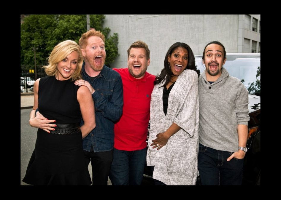 CBS - Carpool Karaoke - James Corden - photo - Timothy Kuratek/CBS - 6/16