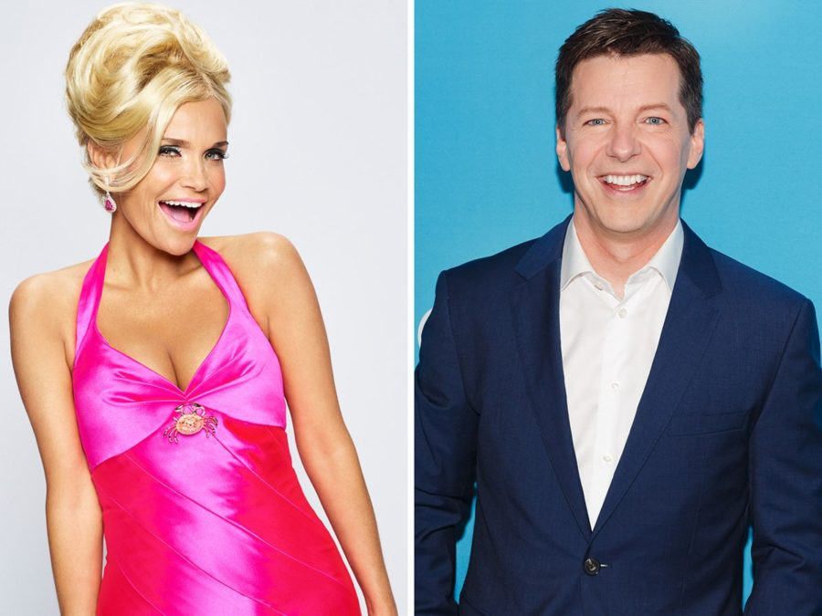 Kristin Chenoweth - Sean Hayes - photo  NBC & Emilio Madrid Kuser - 11/16