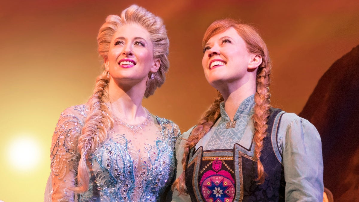 Show Photos - Frozen - 3/18 - Caissie Levy - Patti Murin - Photo: Deen van Meer