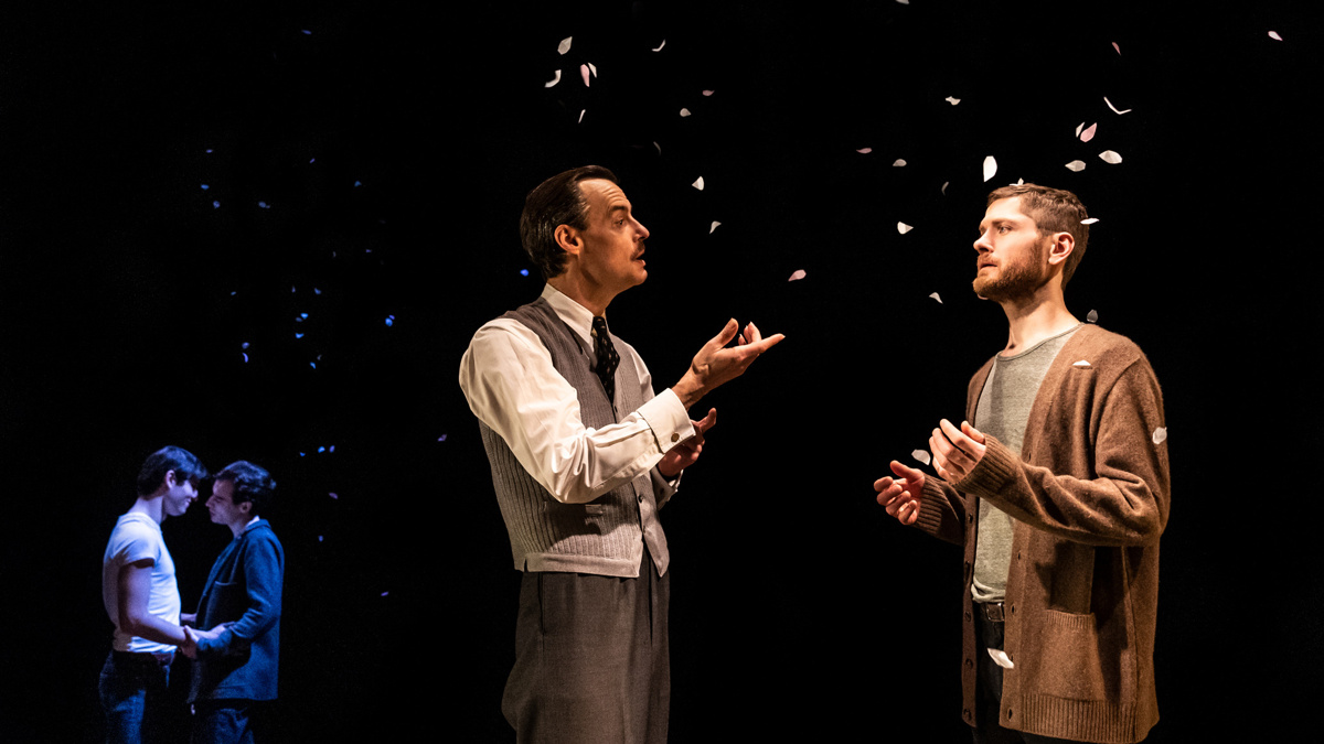 Show Photos - The Inheritance - 1/20 - Paul Hilton - Kyle Soller - Photo: Matthew Murphy