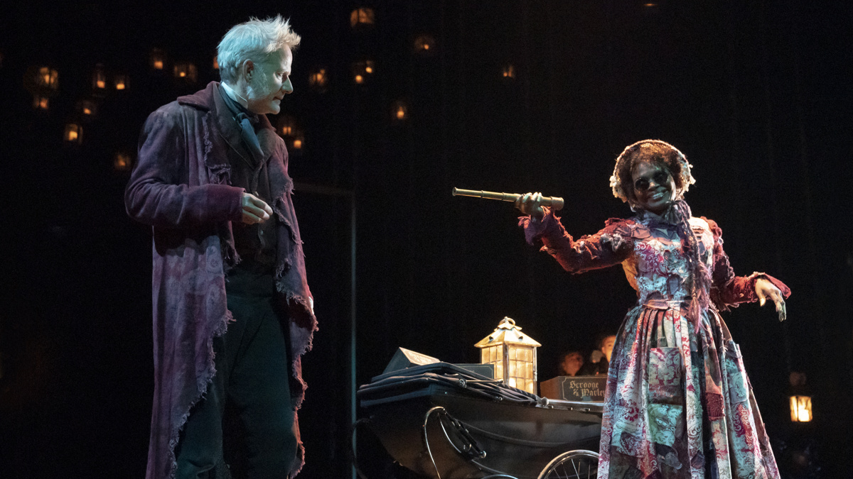 Show Photos - A Christmas Carol - 11/19 - Campbell Scott - LaChanze - Photo: Joan Marcus