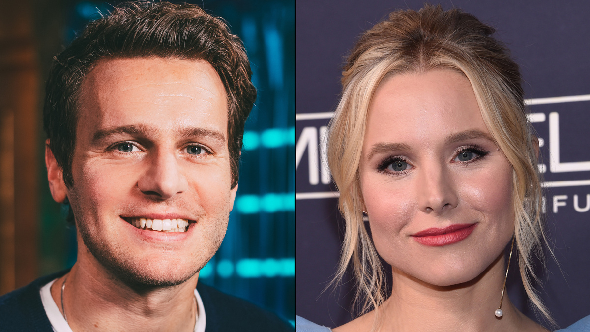 Jonathan Groff - Kristen Bell - 11/2- - Caitlin McNaney / Getty