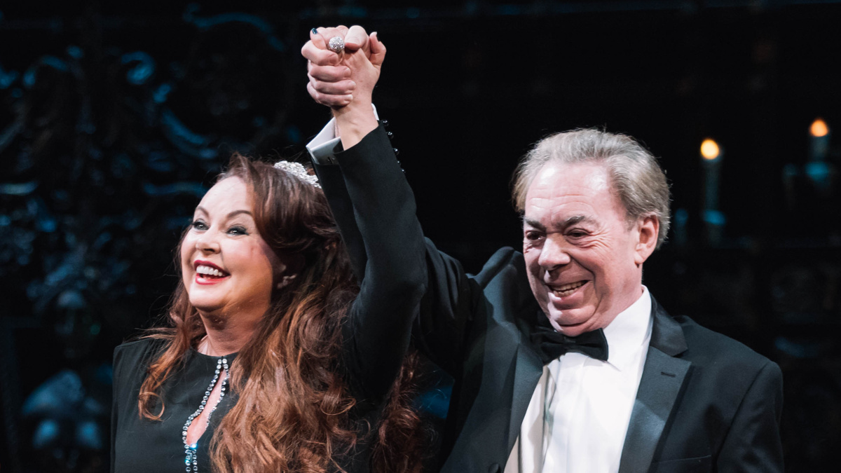Phantom 30th - Sarah Brightman - Andrew Lloyd Webber - EMK