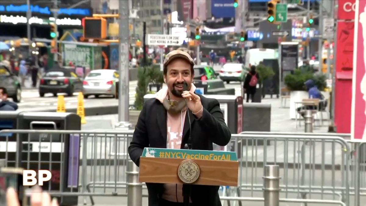 WI - Lin-Manuel Miranda - 3/21 - Broadway Profiles