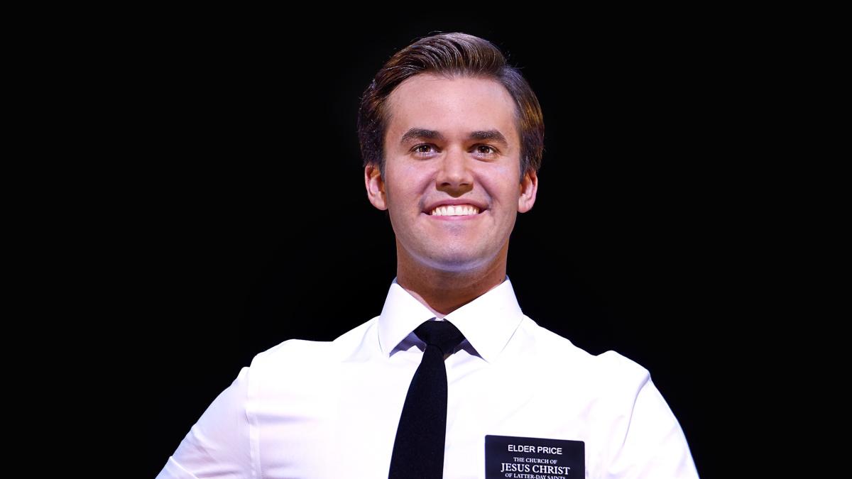 Kevin Clay as Elder Price in The Book of Mormon - 6/21 - Paul Coltas