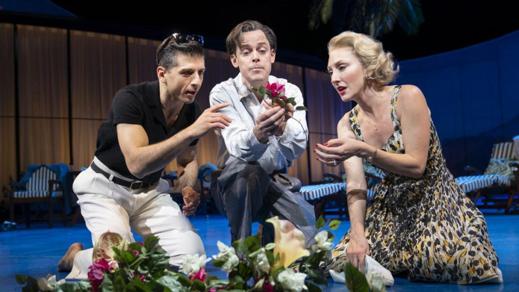 Flying Over Sunset - Tony Yazbeck - Harry Hadden-Paton - Carmen Cusack - 8/21 - Joan Marcus