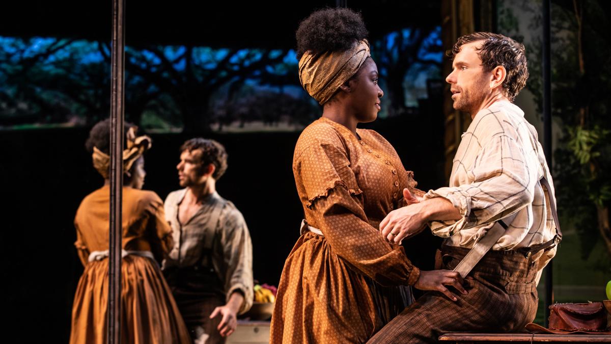 Show Photos - Slave Play - 9/19 - Joaquina Kalukango - Paul Alexander Nolan - Photo: Matthew Murphy