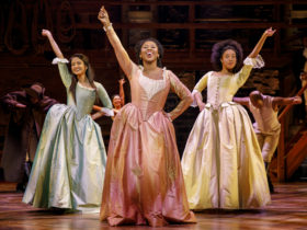 Schuyler sisters in NYC before the revolutionary war